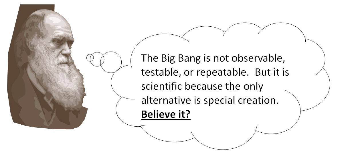 Darwin Big Bang