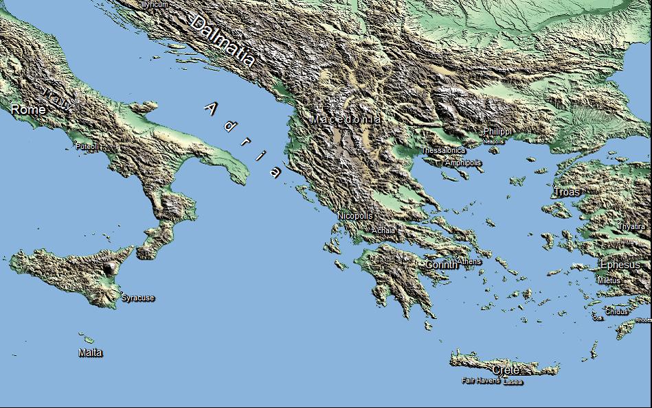 Pastorals Map