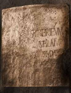 Pilate inscription 1961