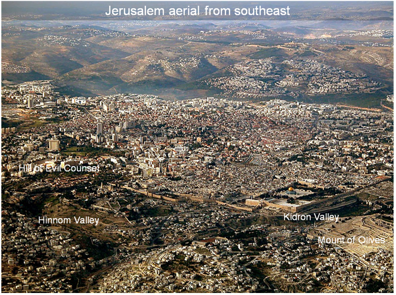 Jerusalem_Aerial_From_SE